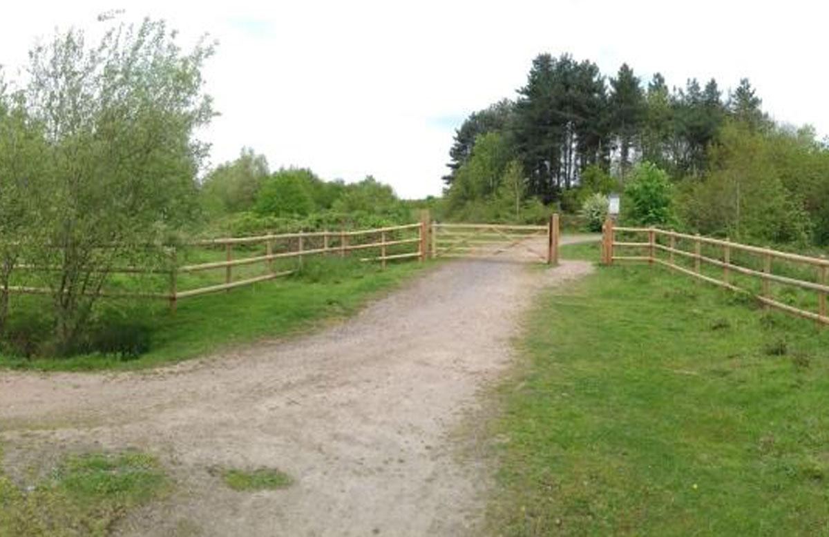 Dunsmore Living Landscape Brandon Wood access