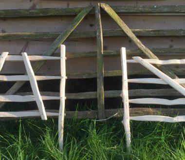 Cleft Sheep Hurdle Making